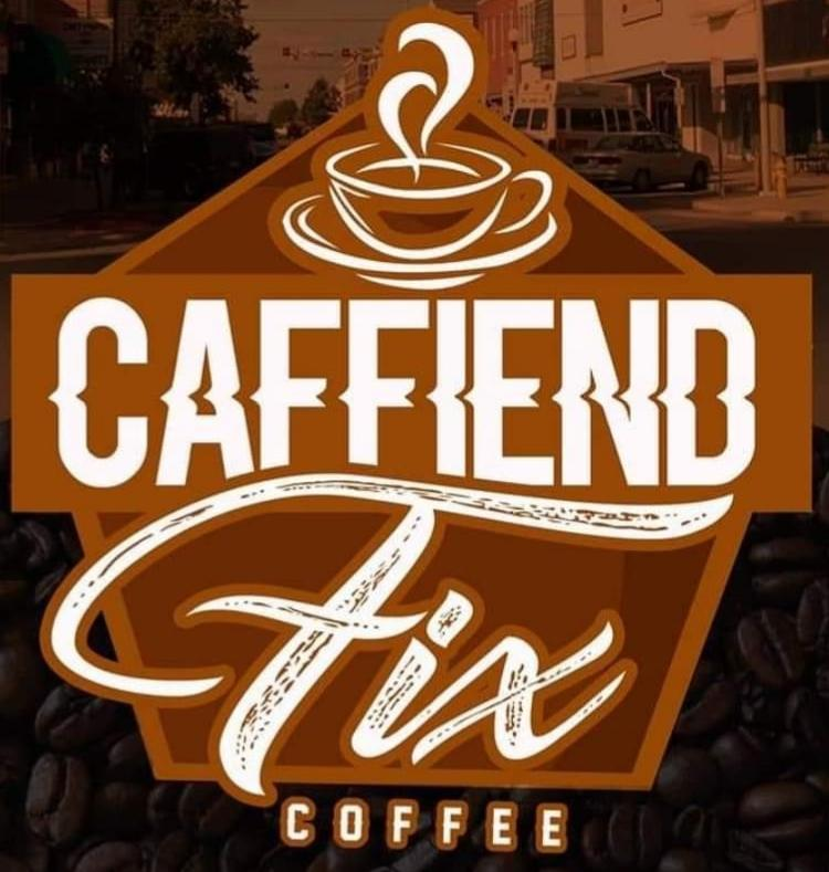 Caffiend Fix Coffee logo