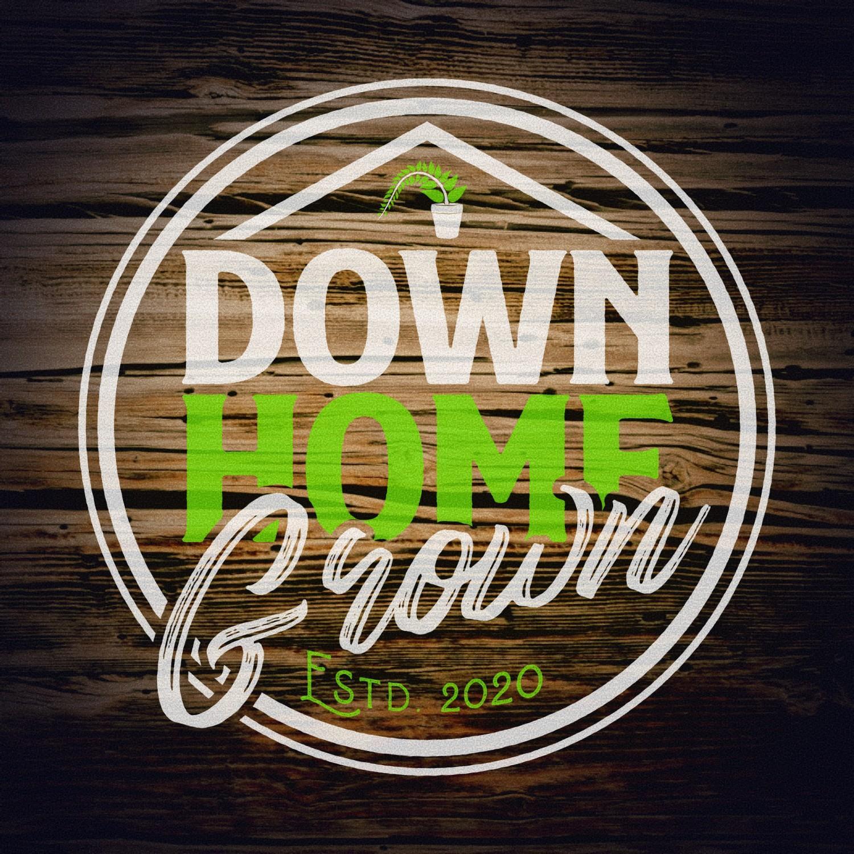 Down Home Grown logo